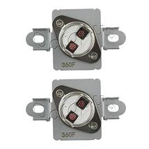 2 Pack WP40113801 Thermal Fuse 40113801 Aftermarket Part Compatible with... - $10.77