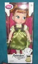 Disney Store Anna Toddler Doll Frozen. 15 inches tall. Brand New in Factory Box. - $37.39