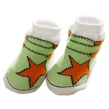 AquaStarToddler Anti Slip Skid Shocks Baby Stockings Newborn Infant Shoes 2 pack