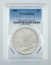 1903 $1 Silver Morgan Dollar Graded by PCGS as MS-64! Great Morgan! - $197.99