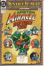DC Justice League International Special #1 Mister Miracle 1990 World Tour - $2.95