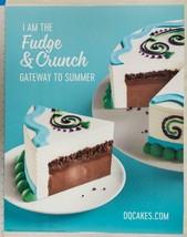 Dairy Queen Poster Fudge Crunch 22x28 dq2 - $14.84