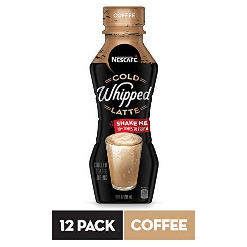 NESCAFÉ Cold Whipped Latte, Coffee, 10 FL OZ, 12 Bottles