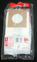 Dirt Devil Type D Vacuum Cleaner Bags Package contains 3 bags NIP New Upright image 4