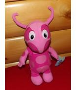 "Backyardigans Nickelodeon Pink Plush & Vinyl 12"" UNIQUA New & Ready to Play - $8.39"