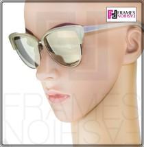 OLIVER PEOPLES ALISHA OV5244S White Pearl Flash Mirrored Sunglasses 5244 Women image 2