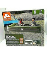 Ozark Trail Full Airbed With in and out Pump Antimicrobial 14 Inch Height - $31.68
