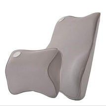 Ecloud Shop Lumbar Support Cushion for Car and Headrest Neck Pillow Kit ... - $27.18