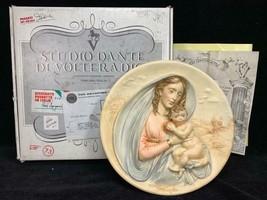 Bradford Exchange Plate Studio Dante Di Volteradici Gift of Faith COA BOX - $39.59