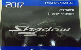 2017 honda vt750c2b Shadow Phantom Operators Owners Owner Manual OEM - $39.24