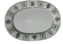 pfaltzgraff naturewood 14 inch oval serving platter stoneware crafted in the USA - $19.96