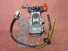 Carburetor and Fuel Line Kit For RedMax Blower EBZ7001 EBS8001  Walbro W... - $14.23