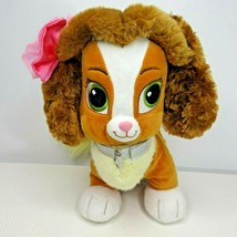Disney Princess Belle BAB Build a Bear Workshop Plush Dog Stuffed Animal  - $39.55