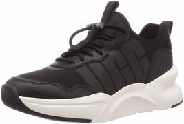 Womens UGG La Daze Lace Up Sneaker - Black, Size 8 M US [1114494] - $119.99