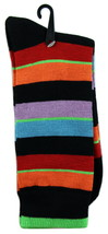Goldstar Mens Striped Socks Casual Fun Colored Cotton Blend Size 10-13 C... - $12.95