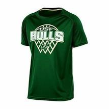 NCAA South Florida Bulls Boys Short Sleeve Crew Neck Raglan Synthetic T-Shirt, S - $14.99