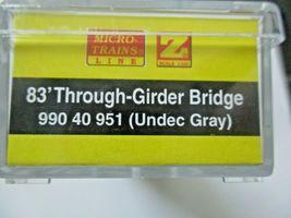 Micro-Trains Micro-Track # 99040951 Girder Bridge  (Gray)   Z-Scale image 3