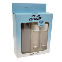 Screen Cleaner - Spray+Microfiber Body+2X Refills - Innovative Cleaning ... - $11.99