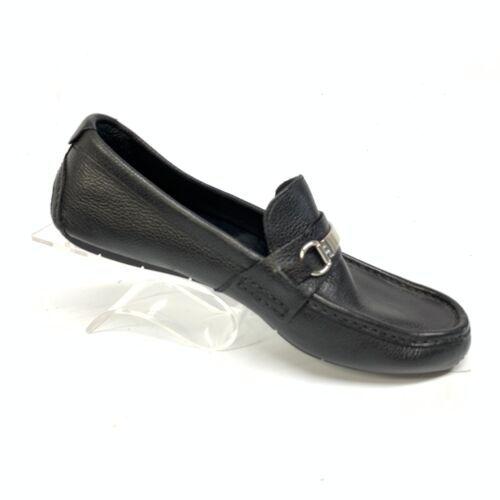 Cole Haan Mens Horse Bit Pebble Grain Leather Casual Loafers Sz 9M (SH-104) image 7