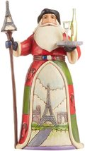 """French Santa from Jim Shore Around the World Collection 7.25"""" High Christmas"""