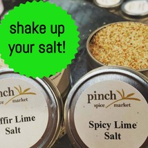 Spicy Lime Salt   For Cocktails, Cooking, Popcorn & More - $8.90+