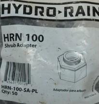 Hydro Rain Shrub Adapter HRN 100 SA PL 1/2 Inch NP 50 Per Package image 2