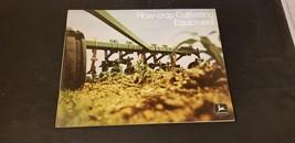 1972 John Deere Row-Crop Cultivating Equipment Brochure Beef, Front Moun... - $21.26