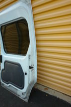 2010-13 Ford Transit Connect Rear Sliding Door W/ Glass Right Side RH image 9