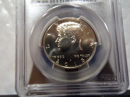 GRADED 2015-P UNCIRCULATED KENNEDY HALF $ CERTIFIED PCGS MS66 SHIPS FREE - $14.45
