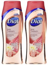 2x Dial SKIN THERAPY Replenishing Body Wash w/ HIMALAYAN PINK SALT & Wat... - $26.99