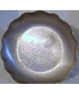 Forged Aluminum Repousse Serving Dish - $8.00