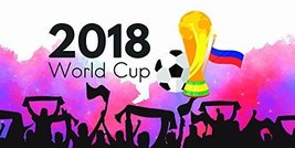 Crowd Cheering 2018 World Cup Football Banner Party Decoration - £16.88 GBP