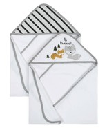 Gerber Organic Cotton Terry Hooded Bath Towels, 2pk (Baby Boy) - $18.99
