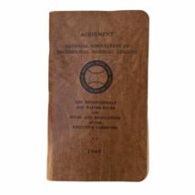 1948 National Association of Professional Baseball Leagues Agreement Rul... - $32.59