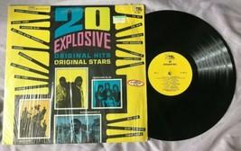 20 Explosive Hits: Original Stars LP - K-Tel Vinyl Record Cream The Who ... - $7.84