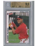 2000 Multi-Ad Midwest League Top Prospects #21 Albert Pujols BGS 9.5  - $321.75
