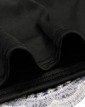 Women Off Shoulder Cap Sleeve Midi Dress Formal Party Dress-blue,black,champagne image 11