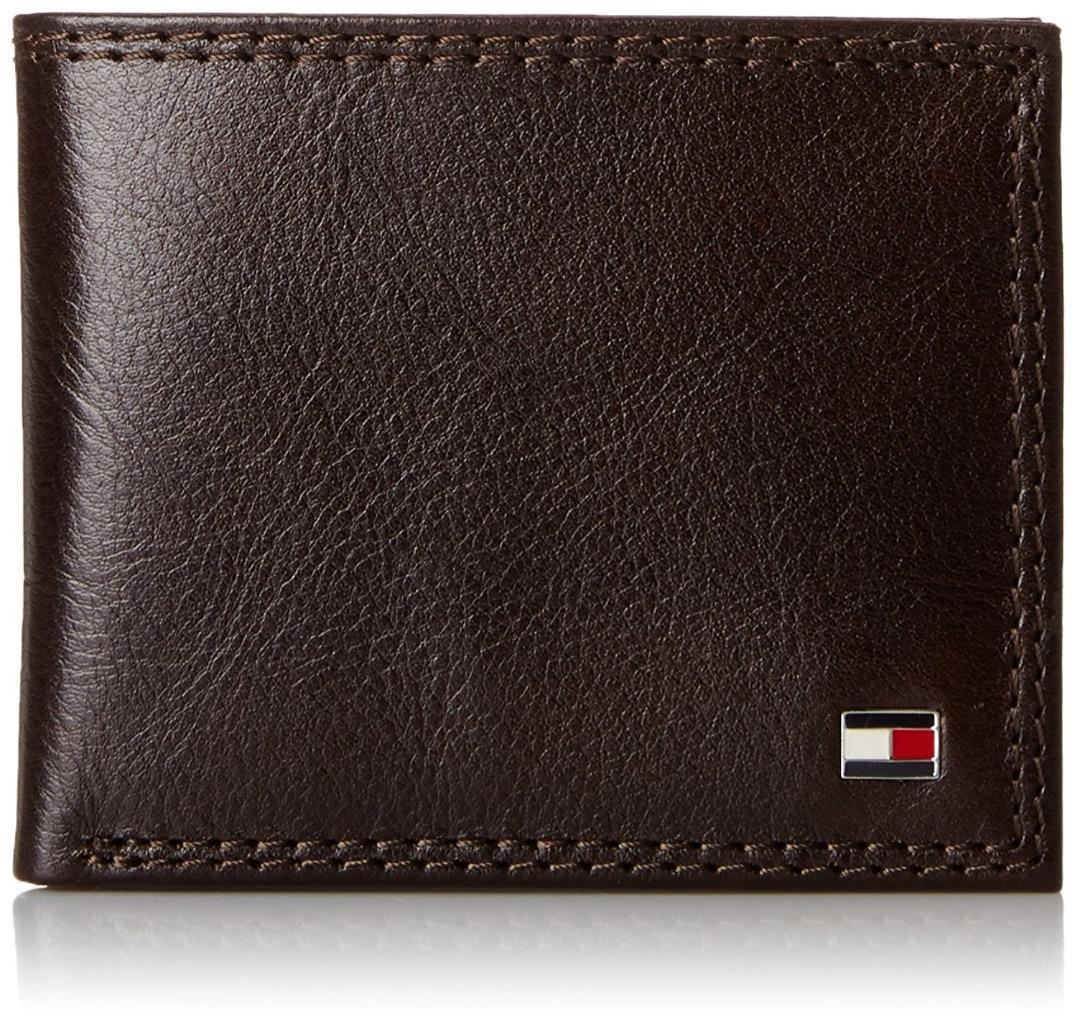 Tommy Hilfiger Men's Leather Credit Card ID Wallet Passcase Billfold 31TL13X051