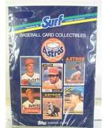 Houston Astros Topps Surf Baseball Card Souvenir Book - $17.10