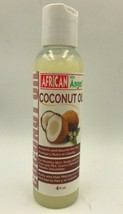 AFRICAN ANGEL COCONUT OIL 4 fl oz. PROTECT & NOURISH THE HAIR - $4.94