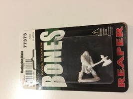 Reaper Miniatures Cuth Wolfson, Barbarian #77373 Bones Unpainted Plastic... - $3.57