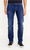Armani Exchange A|x Straight Distressed Jeans, Size 28R, MSRP $120 - $64.34