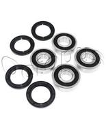YAMAHA YFM350 U BIG BEAR 2*4 ATV Bearings Kit Both Sides Front Wheels 19... - $15.00