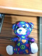 """3.5"""" Build A Bear Workshop Plush Peace Sweetheart Bear ~ McDonald's Happ... - $4.70"""