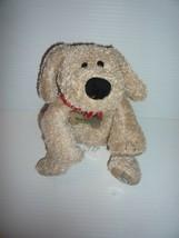 Starbucks 2003 Barkista Plush Dog Floppy Puppy with Collar metal name Tag - $14.85