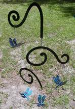 Spinning Color-Changing Dragonfly Metal Garden Porch Mobile Windcatcher - $35.00