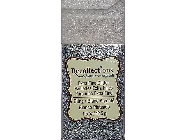 Recollections-Extra Fine Glitter-Bling (Silver) #I85490