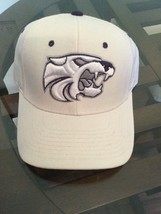 NEW NWT Kansas State Wildcats NCAA Football Hat Zephyr 6 7/8 College White emo - $12.86