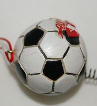 Midwest CBK Soccerball Shoes Bobble Christmas Ornament All Star 2 Set image 6