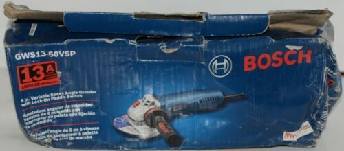 BOSCH GWS13 50VSP Variable Speed Angle Grinder Lock On Paddle Switch CORDED Pkg1